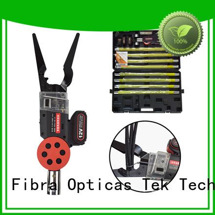 Top fiber optic cable splicing tools manufacturers for Optical fiber telecom industry