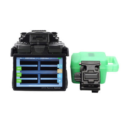 FOT-T3 optical Fiber Fusion Splicer with 06 motors for heavy duty