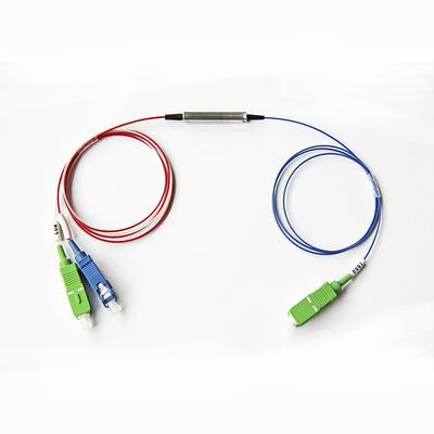 Fiber Optic Plc Splitter For CWDM&DWDM module mini tube type, 2 4 8 16 Channel multiplexer
