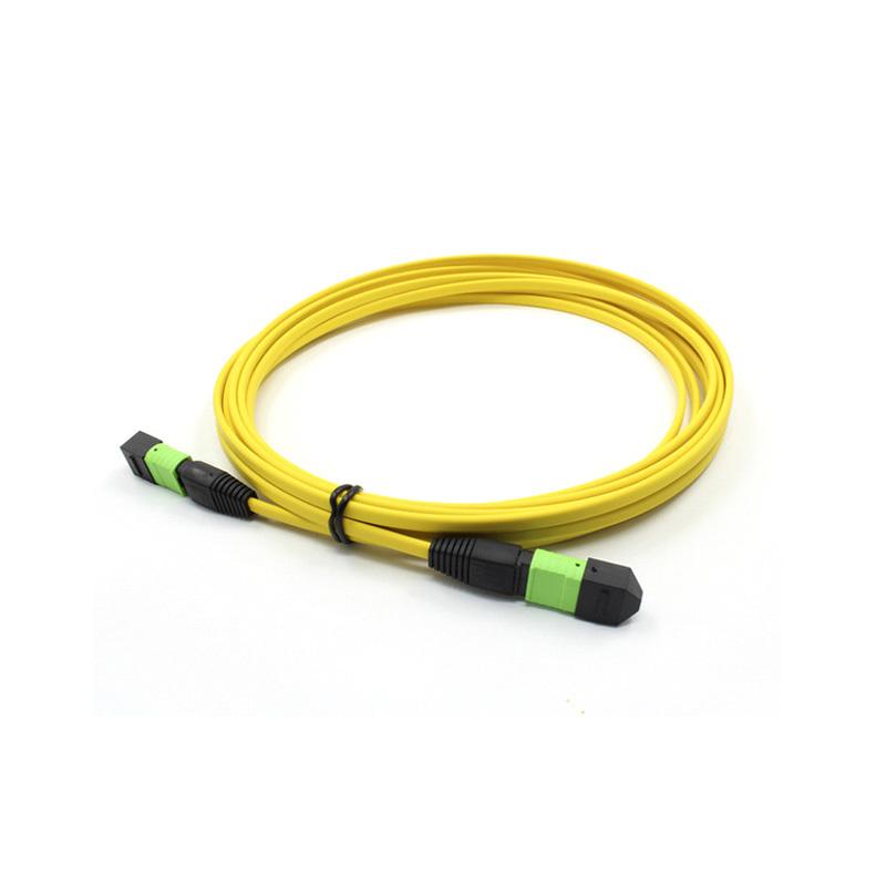 MPO Fiber Patch cord cable, SM , 4/8/12/24core