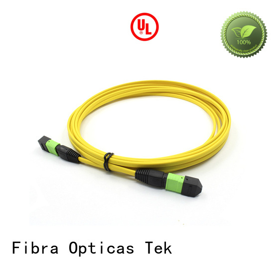 FOT New mpo female company used in Ribbon type multi fiber assemblies