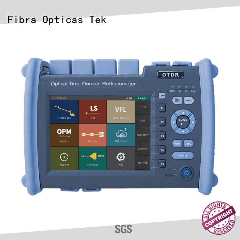 FOT ideal fiber optic tester company for Fiber optical measurement