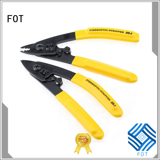 Best fiber optic crimping tool manufacturers for FTTX