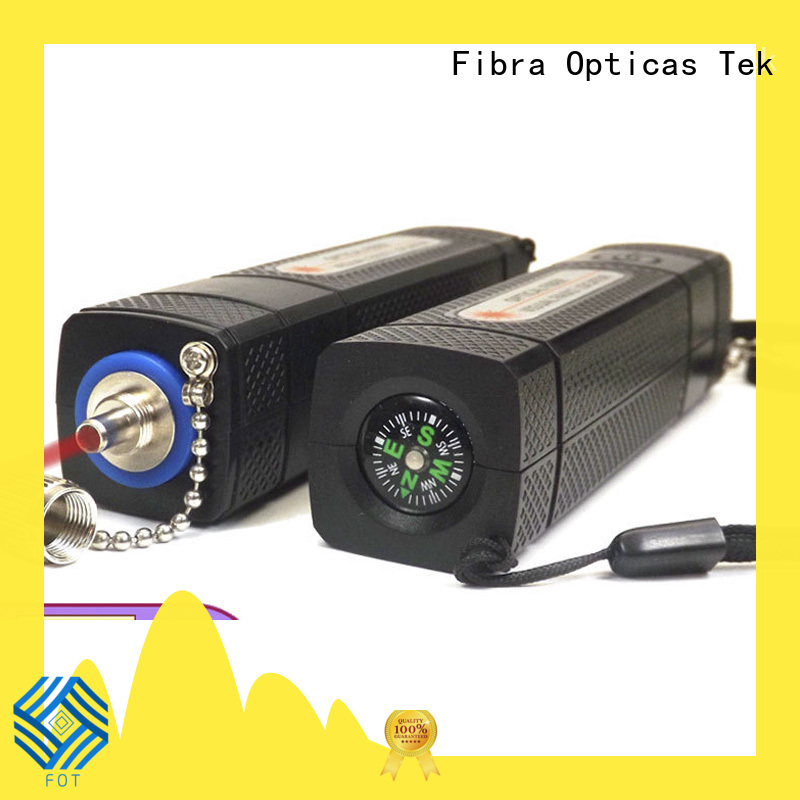 New fibre light source tester Suppliers for FTTX