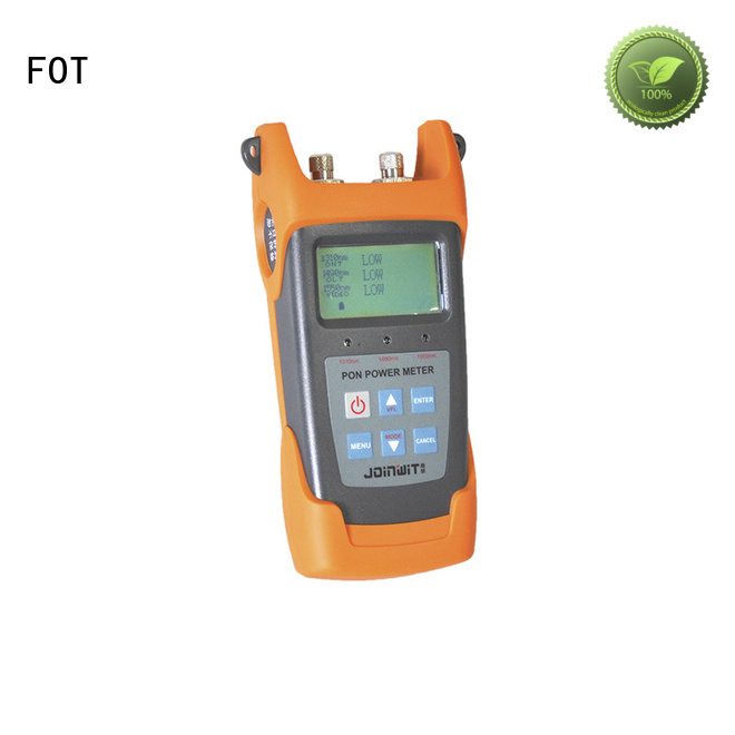 FOT fiber optic light meter readings for business for FTTX