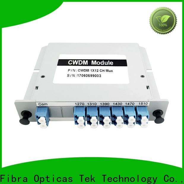 FOT Top cwdm design factory for telecommunications network system