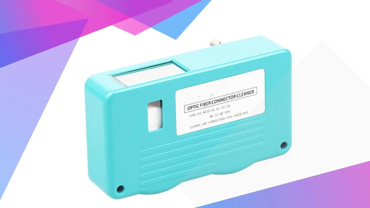 FOT102 Optic Fiber Connector Cleaner Cleaning Cassette