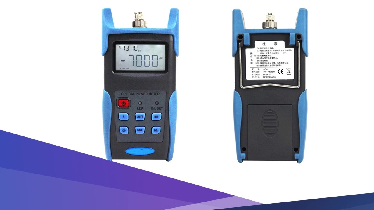 FOT3216 FTTH optical power meter