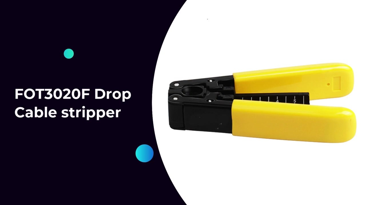 FOT3020F Drop Cable stripper