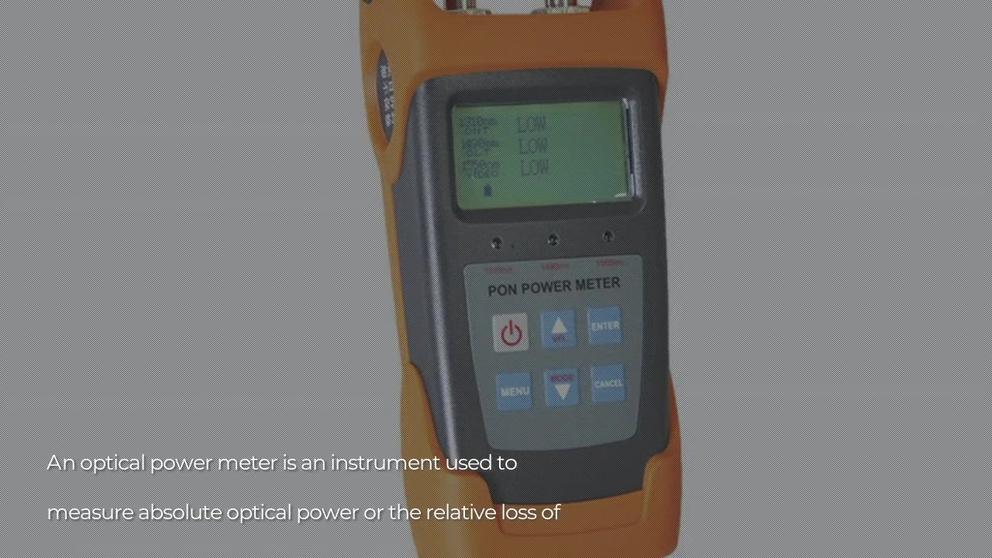 FOT-V7 optical fiber smart otdr Fiber Optic Power Meter