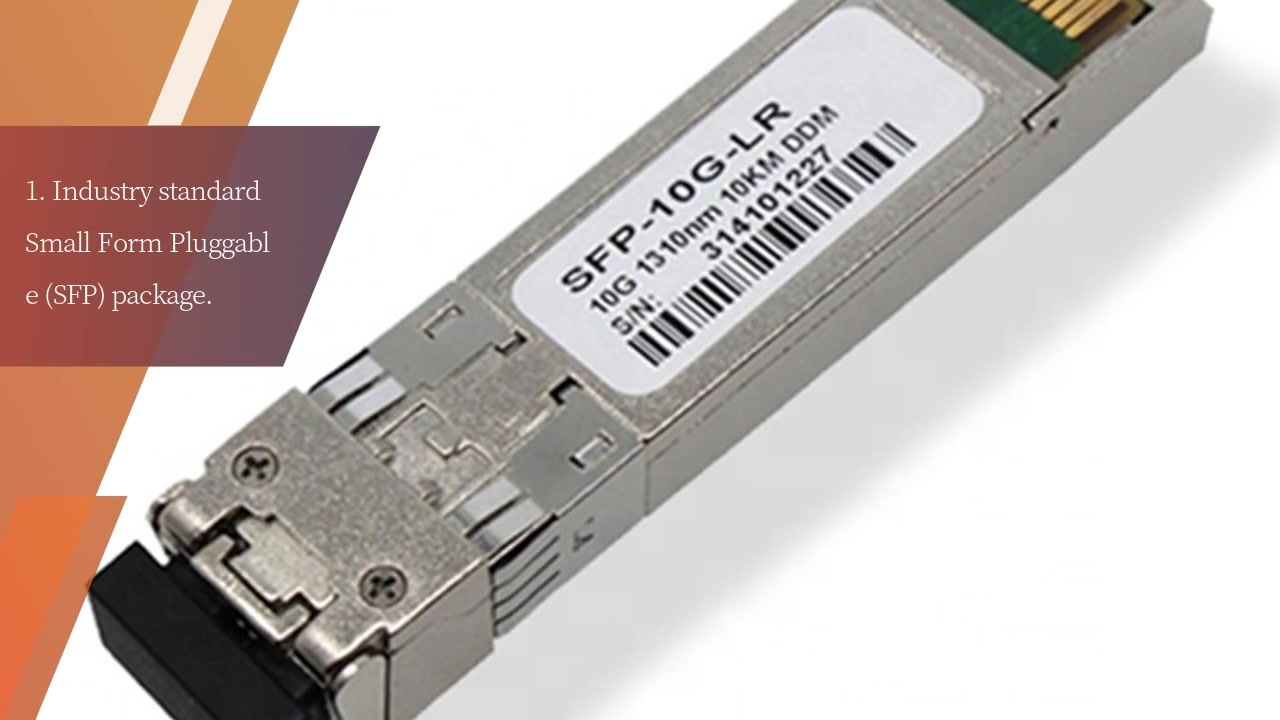 Optical Fiber SFP module Transceiver