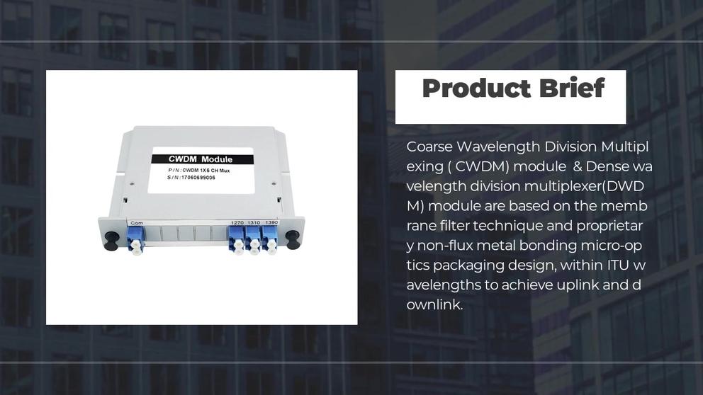 CWDM&DWDM module LGX Box type, 2 4 8 16 Channel fiber multiplexer