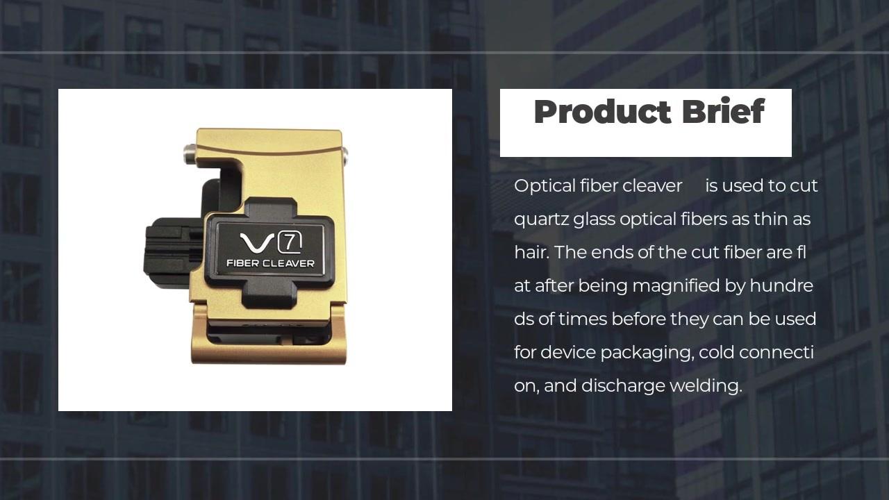 FOT-V7 Optical fiber cutter fiber cleaver high precision