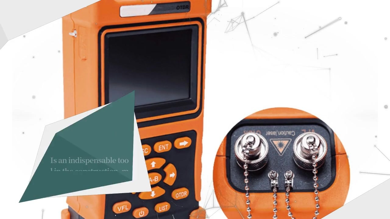 FOT3302B Handheld OTDR fiber tester with VFL for FTTx